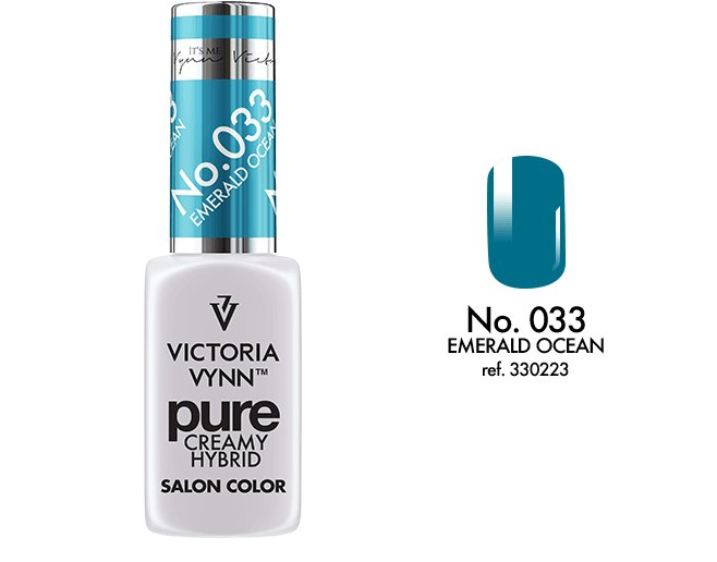 Victoria Vynn - Pure Gel Polish - #033 - Emerald Ocean
