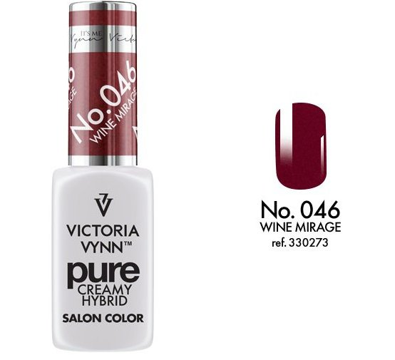 Victoria Vynn - Pure Gel Polish - #046 - Wine Mirage