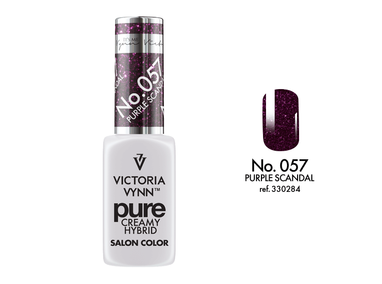 Victoria Vynn - Pure Gel Polish - #057 - Purple Scandal