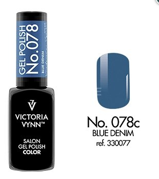 Victoria Vynn - Salon Gel Polish - #078 - Blue Denim