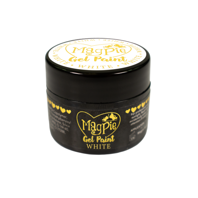 Magpie - Paint Gel - WHITE - 7ml